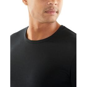 Icebreaker Solace SS Crewe Shirt Herre black